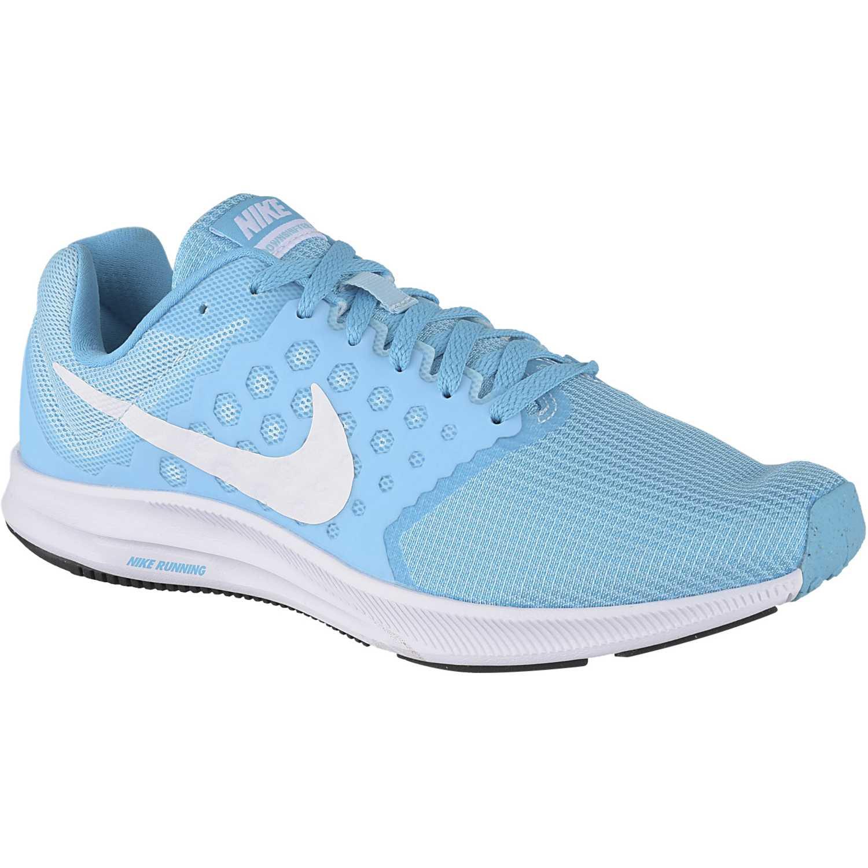 bdde58a168adf Zapatilla de Mujer Nike Turquesa   blanco wmns downshifter 7 ...