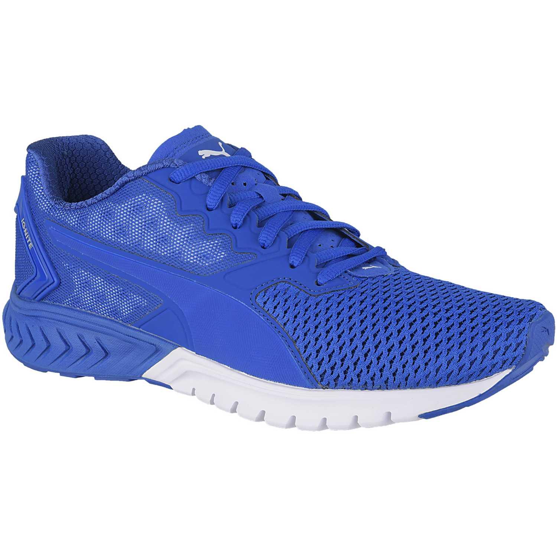 zapatillas puma ignite azul hombres