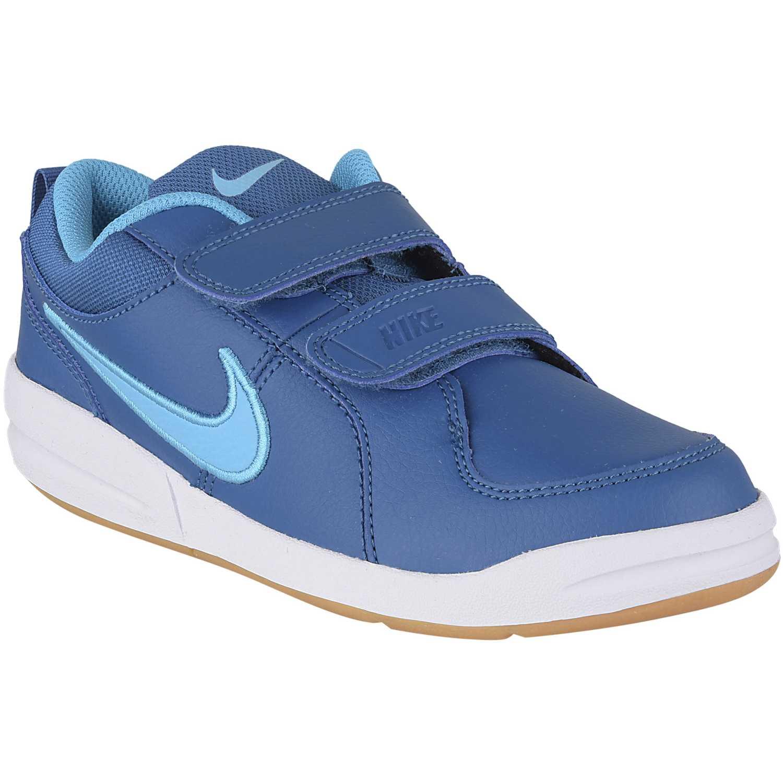 01d1001bad32a Zapatilla de Niño Nike Azul   Blanco pico 4 bpv