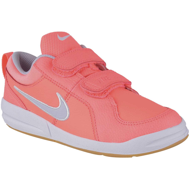 Zapatilla de Niña Nike Coral / blanco pico 4 gpv