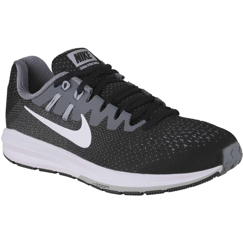 30a35b2e237401 Zapatillas de Hombre Nike Negro /gris air zoom structure 20 ...