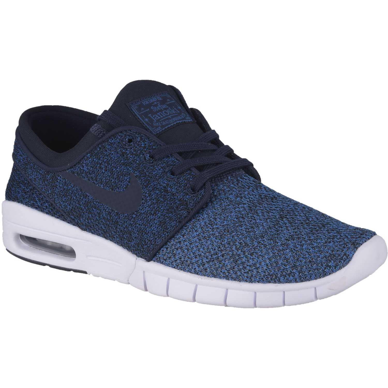 100% authentic c99e6 103bf Zapatilla de Hombre Nike Azul   blanco sb stefan janoski max