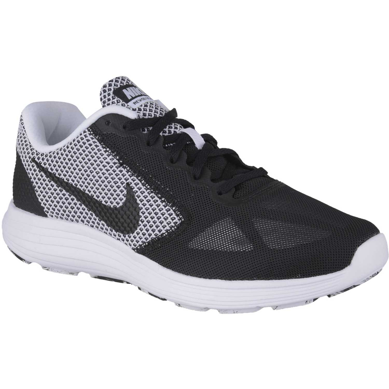 0f4861f93 Zapatilla de Hombre Nike Negro  gris revolution 3