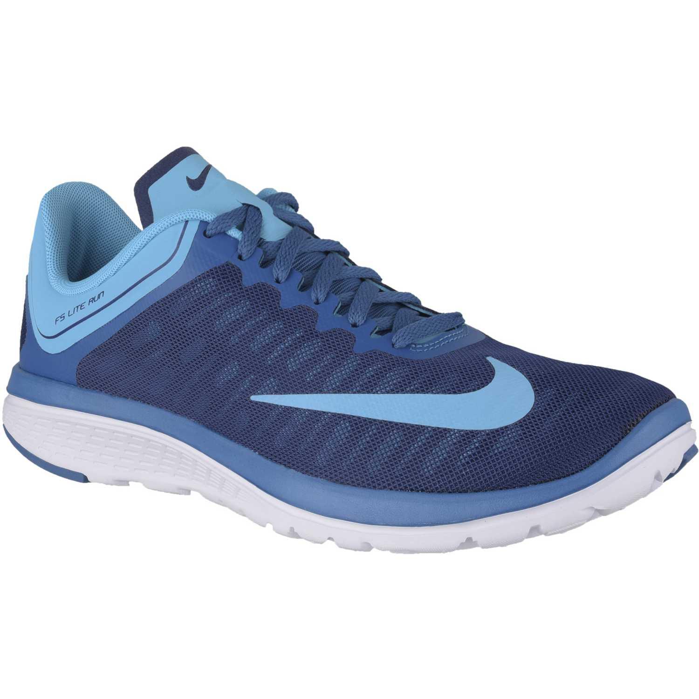 Zapatilla de Hombre Nike Azul   celeste fs lite run 4  25644f93b1f3a
