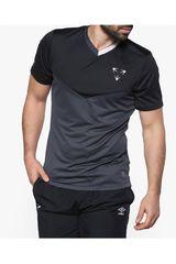 Umbro Plomo / Negro de Hombre modelo VELOCITA TRAINING JERSEY Polos Camisetas Deportivo