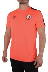 Umbro Coral de Hombre modelo UNIV TEAM BENCH S/S T-SHIRT (UNIVERSITARIO) Camisetas Deportivo Polos