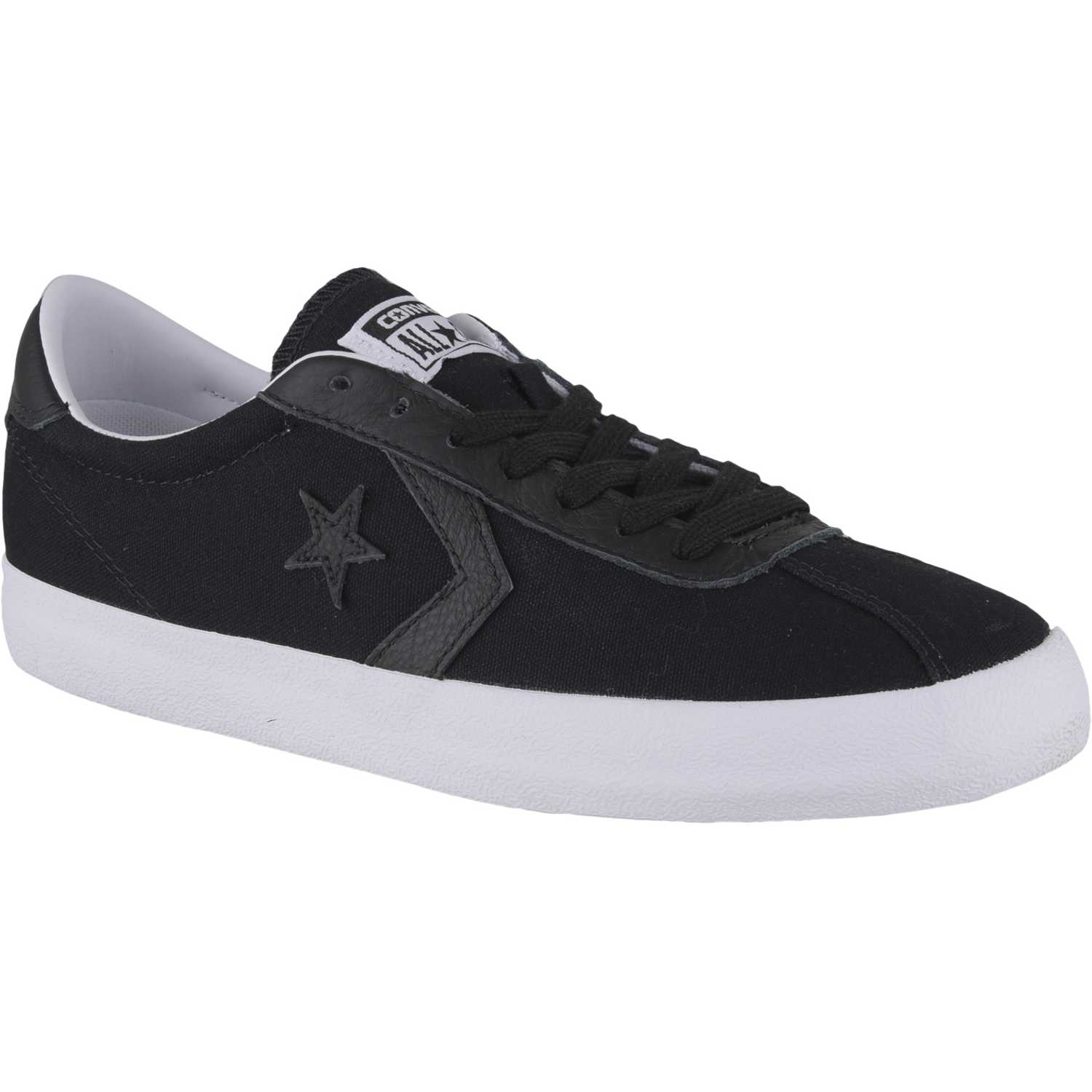 5d0f9cf5a Zapatilla de Hombre Converse Negro   blanco star player canvas ...