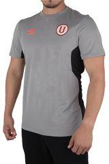 Umbro Gris de Hombre modelo UNIV TEAM TRAINING S/S JERSEY (UNIVERSITARIO) Polos Camisetas Deportivo