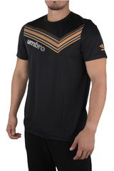 Umbro Negro / amarillo de Hombre modelo veloce training jersey Deportivo Camisetas Polos