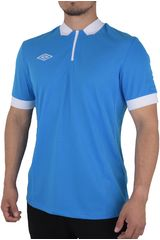 Umbro Celeste de Hombre modelo NATIONAL JERSEY SS Deportivo Polos Camisetas