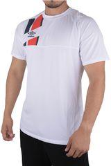 Umbro Blanco de Hombre modelo SM UB HOME JERSEY S/S Deportivo Polos Camisetas