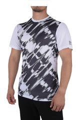 Umbro Blanco / Negro de Hombre modelo UX TRAINING POLY TEE Polos Camisetas Deportivo