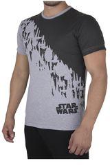 Star Wars Gris / Negro de Hombre modelo SW-735 Casual Polos