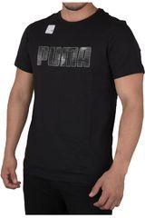 Puma Negro / Blanco de Hombre modelo ACTIVE HERO TEE Deportivo Polos