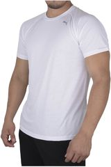 Puma Blanco de Hombre modelo CORE-RUN S/S TEE Deportivo Polos