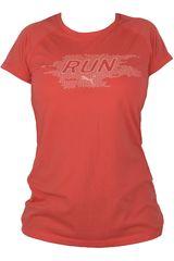 Puma Rojo de Mujer modelo RUN S/S TEE W Polos Deportivo
