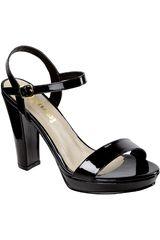 Limoni - Cuero Negro de Mujer modelo SP 2318101 Sandalias Casual Cuña