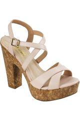Sandalia Plataforma de Mujer Limoni - Cuero Rosado SP 2118101