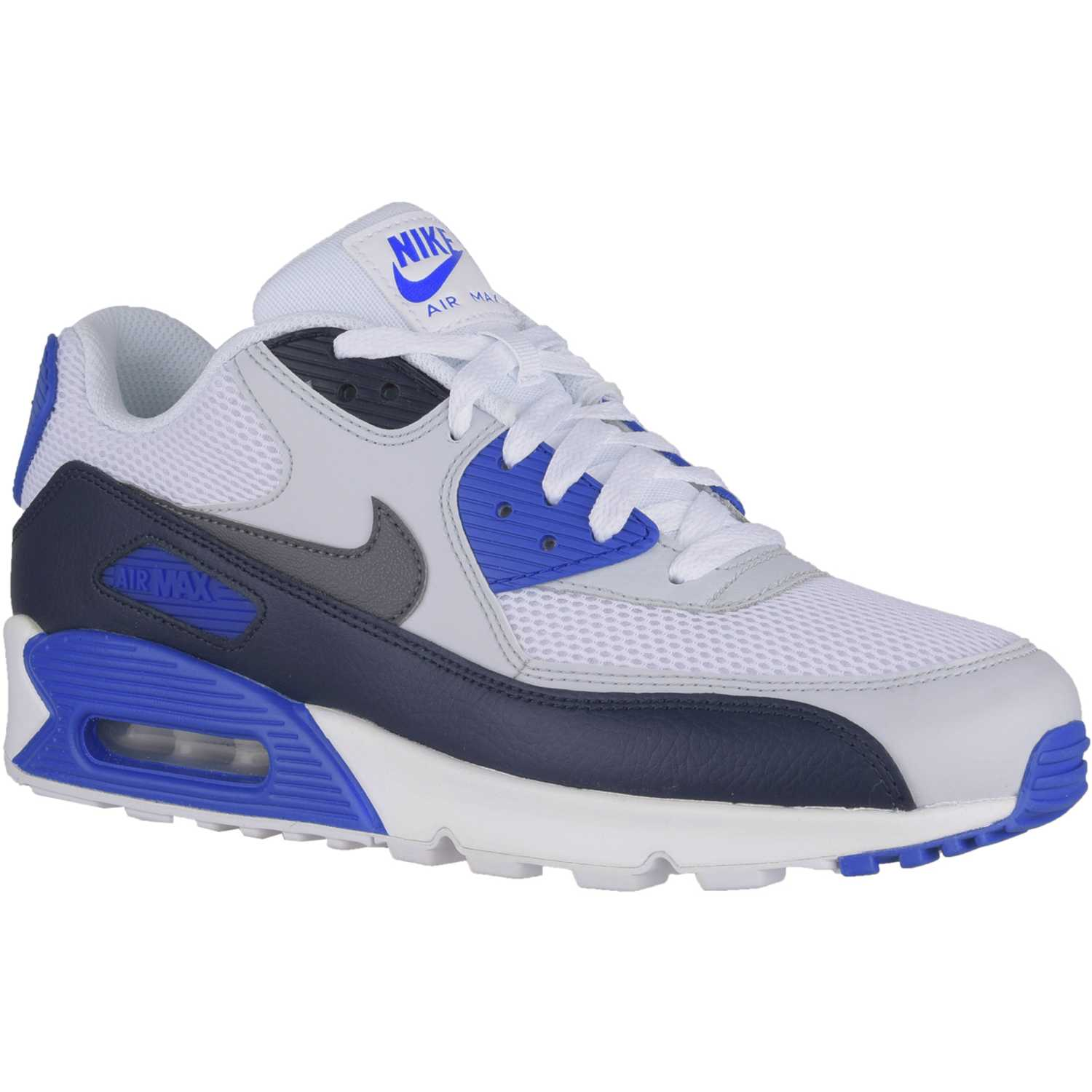 air max 90 azul y blanco