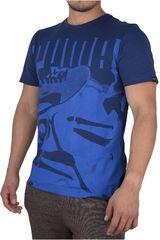 Puma Azul / Celeste de Hombre modelo SNEAKERS PHOTO TEE Polos Deportivo