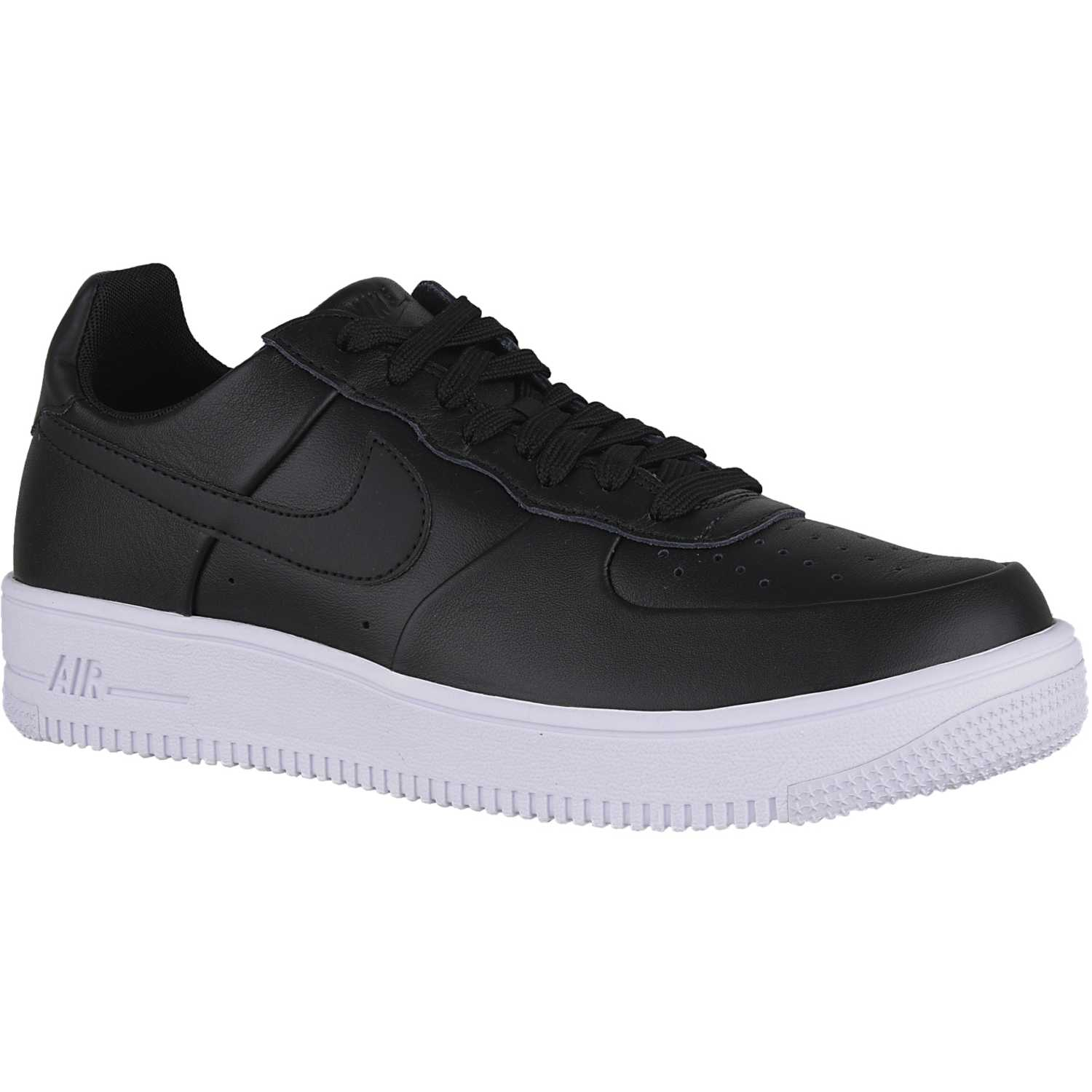 16288c9086f41 Zapatilla de Hombre Nike Negro   blanco air force 1 ultraforce lthr ...