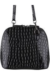 Platanitos Negro de Mujer modelo A703 Carteras Casual