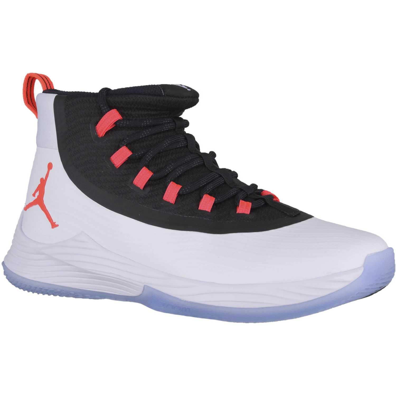 Zapatilla de Hombre Nike Blanco / negro jordan ultra fly 2