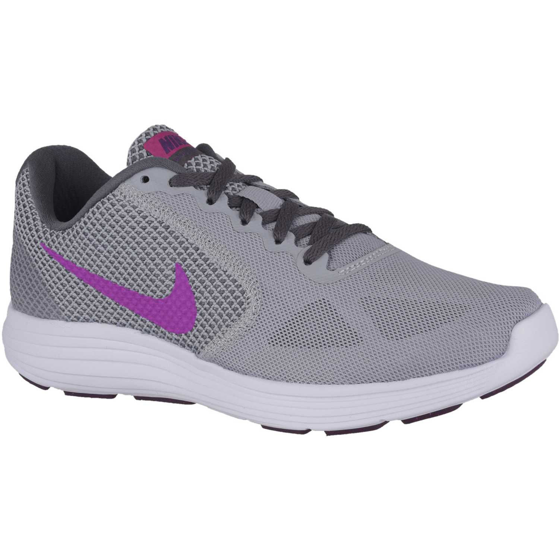 on sale 72836 60578 Zapatilla de Mujer Nike Gris   lila wmns revolution 3
