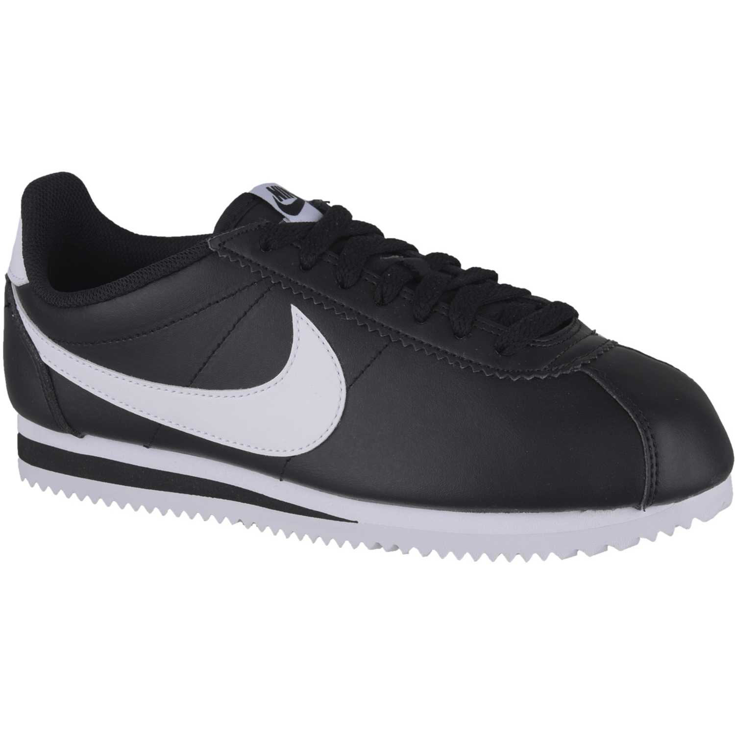 reputable site 6700b 87fe7 Zapatilla de Mujer Nike Negro   Blanco wmns classic cortez leather