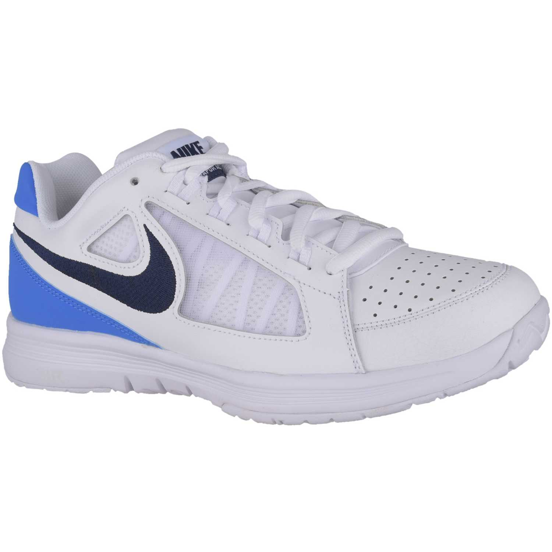 huge discount 4f114 68972 Zapatilla de Hombre Nike Blanco  azul air vapor ace