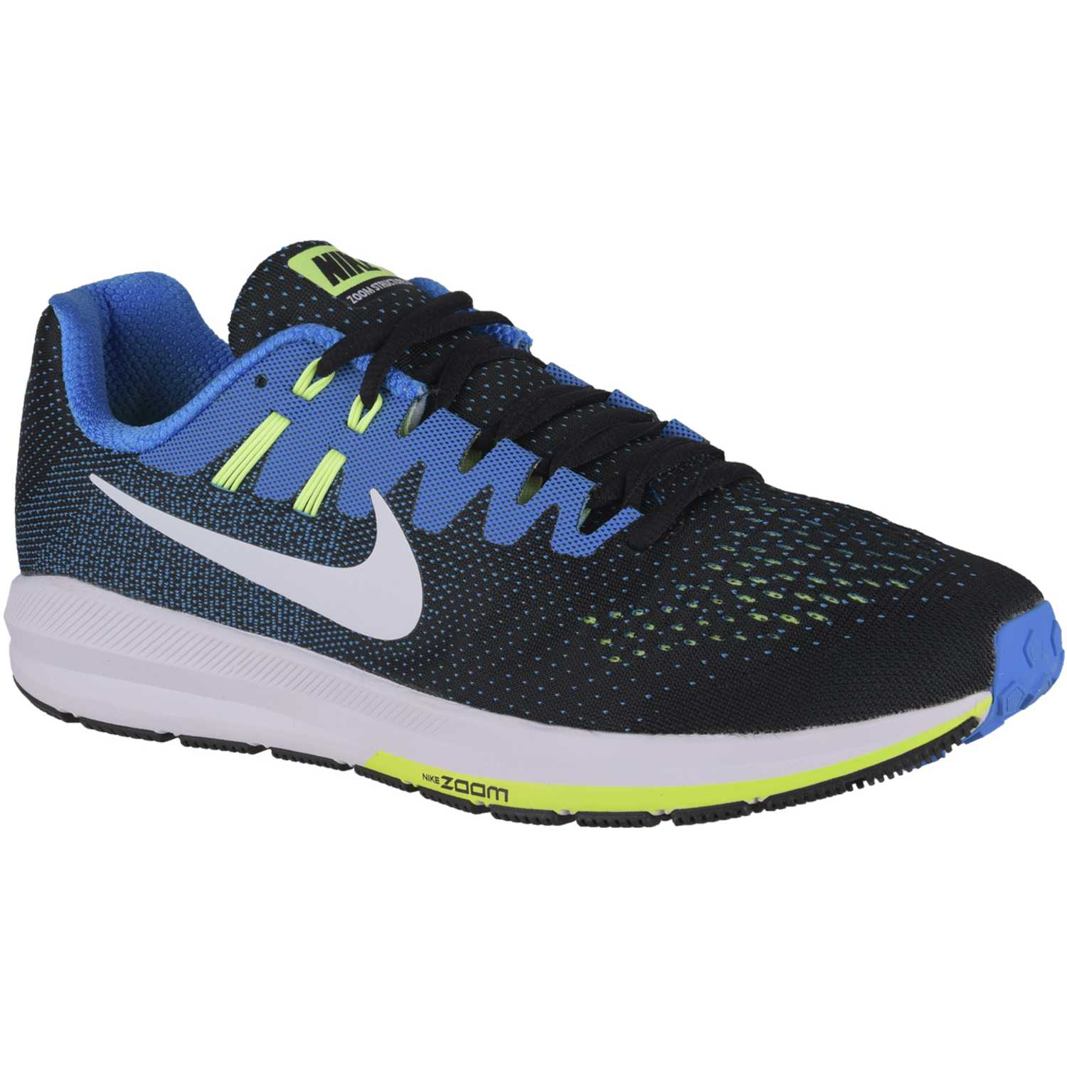 finest selection b1889 2ce44 Zapatilla de Hombre Nike Negro   celeste air zoom structure 20
