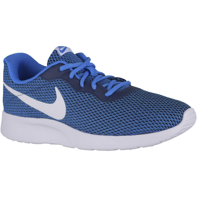 online retailer 33dd7 94ab3 Zapatilla de Hombre Nike Celeste  blanco tanjun se