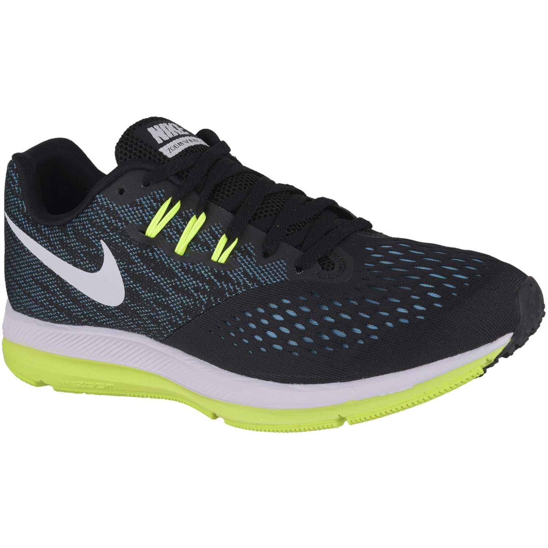 28bb6894376 Zapatilla de Hombre Nike Azul petróleo zoom winflo 4
