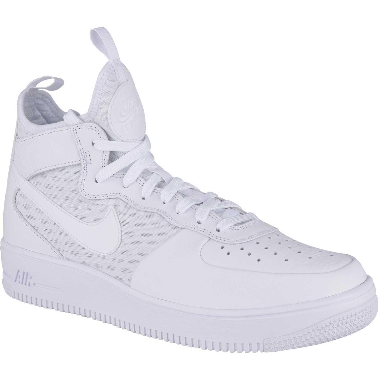 d72feff324e Zapatilla de Hombre Nike Blanco af1 ultraforce mid