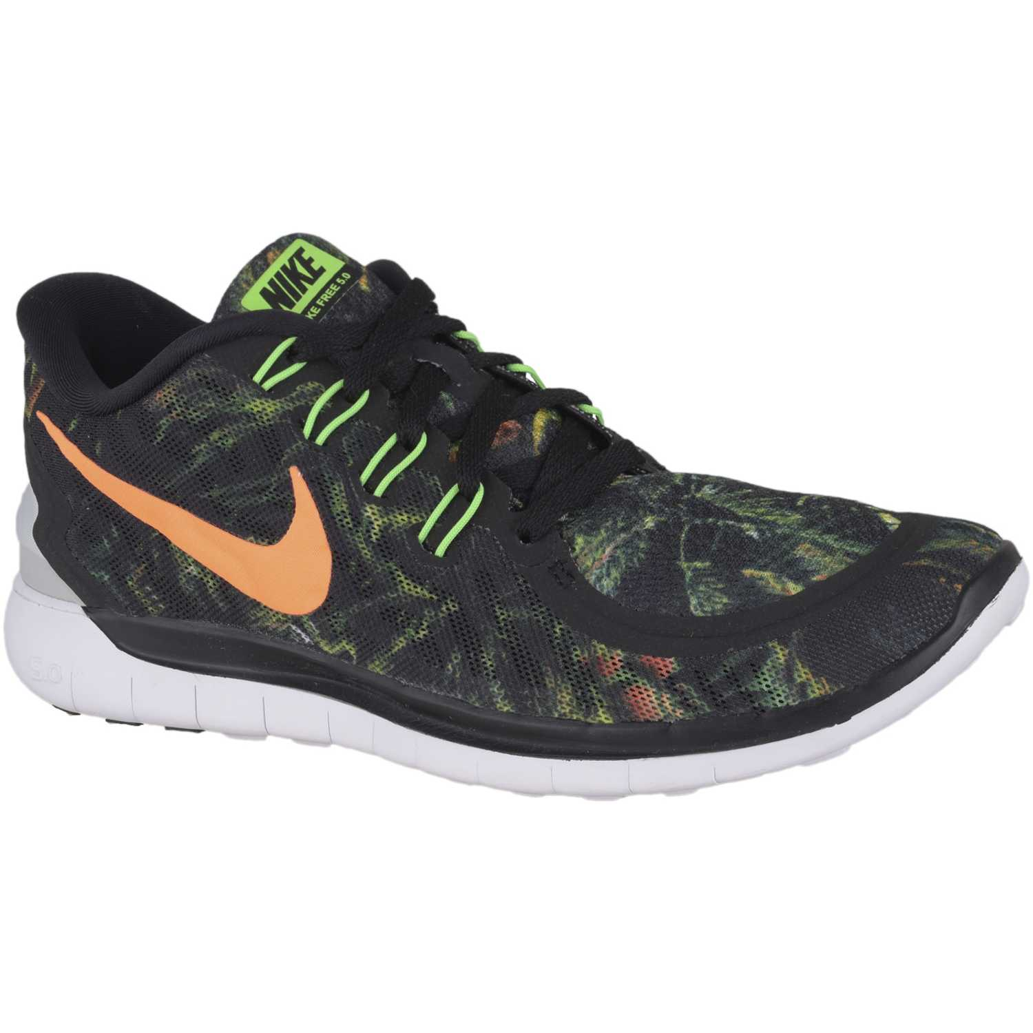 uk availability 6359d 7254c Zapatilla de Mujer Nike Verde  negro wmns free 5.0 solstice
