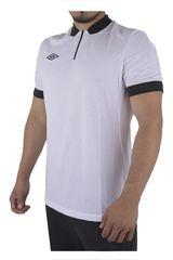 Umbro Blanco / Negro de Hombre modelo NATIONAL JERSEY SS Polos Camisetas Deportivo