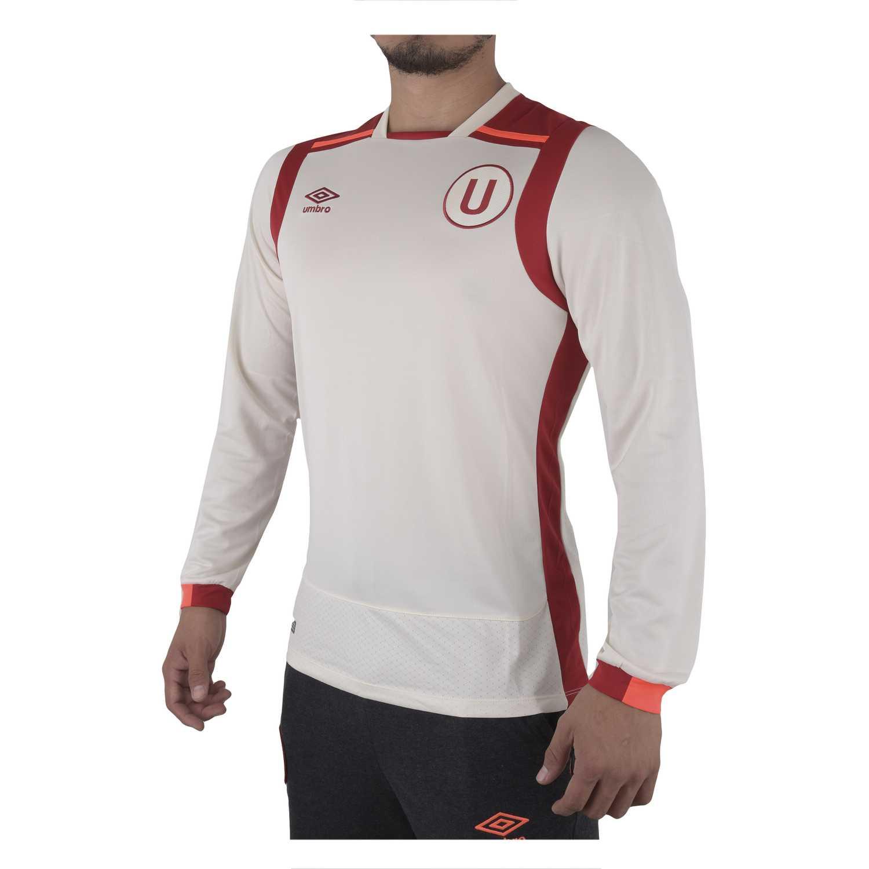 Univ Hombre Home Ls Camiseta De Umbro universitario Jersey Crema g6qqwIS