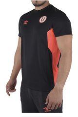 Umbro Negro de Hombre modelo UNIV TEAM TRAINING S/S JERSEY (UNIVERSITARIO) Polos Camisetas Deportivo