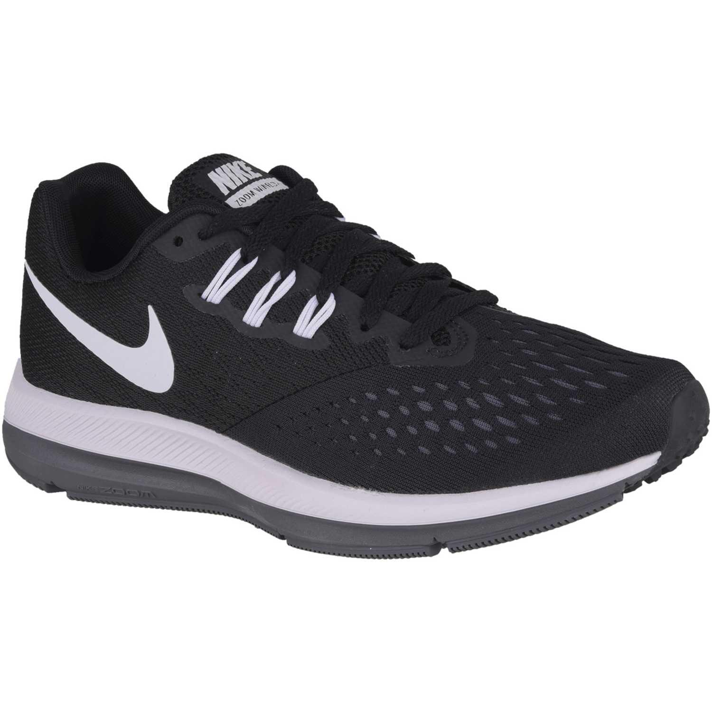 085e07ef2e2 Zapatilla de Mujer Nike Negro   blanco wmns zoom winflo 4 ...