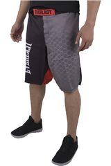 Everlast Negro /Gris de Hombre modelo MMA SH Deportivo Shorts