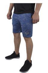 Everlast Azul de Hombre modelo CAMO SH Deportivo Shorts