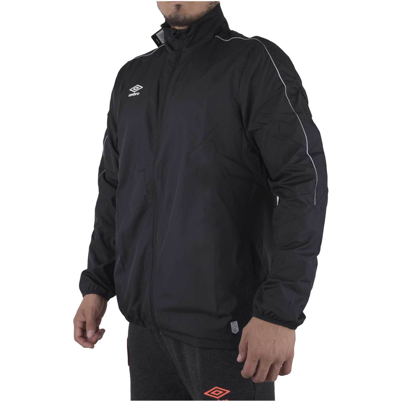 Casaca de Hombre Umbro Negro pro training shower jacket