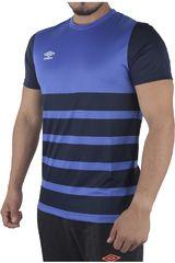 Umbro Azul / Acero de Hombre modelo SM TEAM BENCH S/S JERSEY Polos Camisetas Deportivo