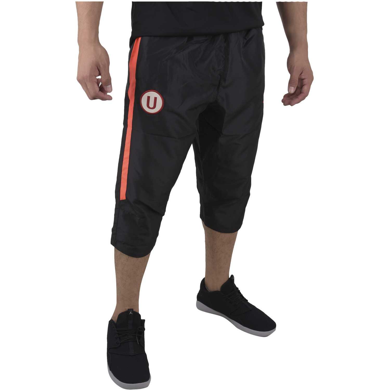 Pantalón de Hombre Umbro Negro / rojo univ team bench woven 3/4 pant (universitario)