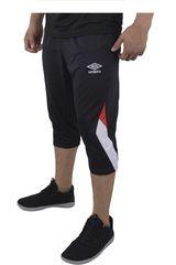Umbro Negro de Hombre modelo TRAINING 3/4 KNIT PANT Deportivo Pantalones