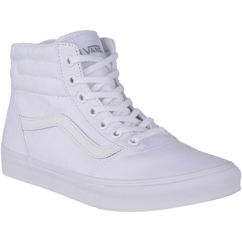 0b03a4965ad16 Zapatilla de Mujer Vans Blanco milton hi