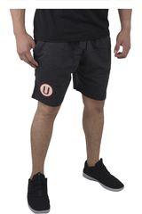 Umbro Negro de Hombre modelo UNIVERSITARIO SWEAT SHORT Shorts Deportivo