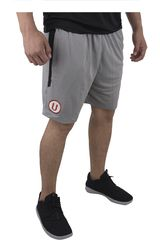 Umbro Gris de Hombre modelo UNIV TEAM TRAINING KNIT SHORT (UNIVERSITARIO) Deportivo Shorts