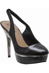 Calzado de Mujer Platanitos Negro CP-98306