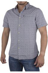 CAT Gris de Hombre modelo SANDERS S/S SHIRT Camisas Casual
